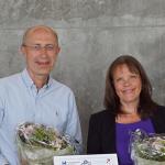 Jeanne Duus Johansen and Carsten Geisler