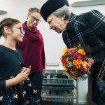 H.K.H prinsesse Benedikte besøger CAG
