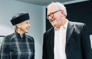 H.K.H prinsesse Bendikte og CAG formand Hans Bisgaard